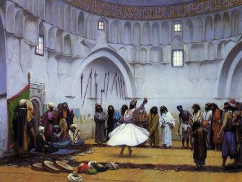 Jean-Leon Gerome : Whirling Dervishes