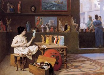 Jean-Leon Gerome : Painting Breathes Life into Sculpture II