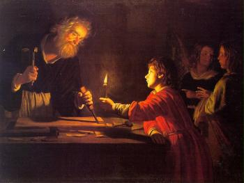 Gerrit Van Honthorst : Childhood Of Christ