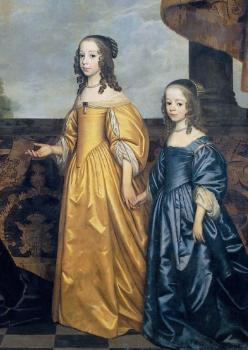 Gerrit Van Honthorst : Youngest Daughters