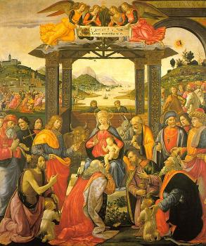 Adoration of the Magi for the Spedale degli Innocenti