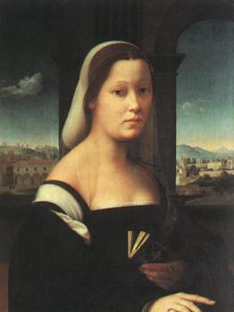Ridolfo Ghirlandaio : Portrait of a Woman, The Nun