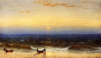 Sanford Robinson Gifford : Sunrise, Long Branch, New Jersey