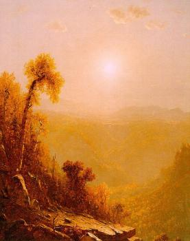 Sanford Robinson Gifford : October in the Catskills