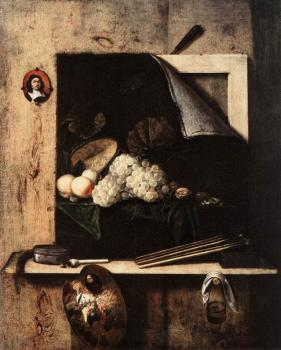 Still-Life with Self-Portrait