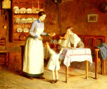 Victor Gabriel Gilbert : The Children's Taste