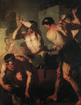 Luca Giordano : The Forge of Vulcan