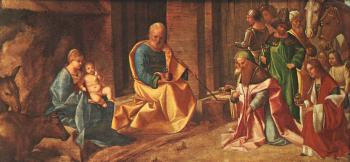 Giorgione : Adoration of the Magi
