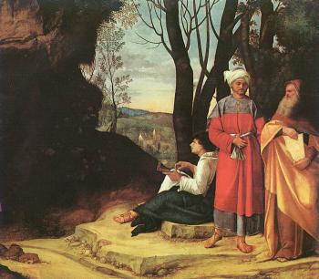 Giorgione : The Three Philosophers