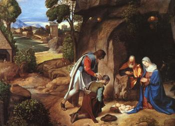 Giorgione : Adoration of the Shepherds