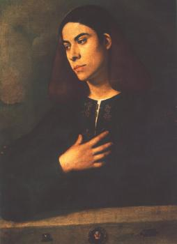 Giorgione : Portrait of a Youth, Antonio Broccardo