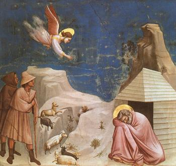 Giotto : Joachim's Dream Scenes from the Life of Joachim