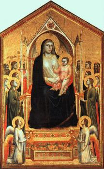 Giotto : The Madonna in Glory