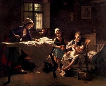 Giovanni Battista Torriglia : A Happy Family