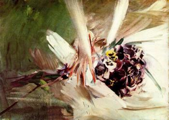 Giovanni Boldini : The Pansies