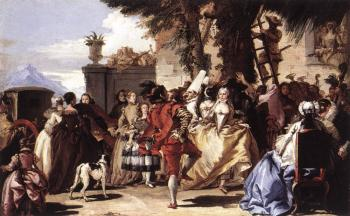 Giovanni Domenico Tiepolo : Ball In The Country