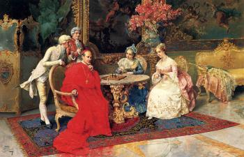 Giulio Rosati : The Chess Players