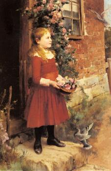 Alfred Glendening : The Youngest Daughter of J S Gabriel