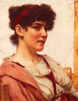 John William Godward : A Classical Beauty II