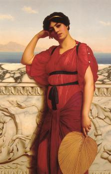 John William Godward : A Classical Lady