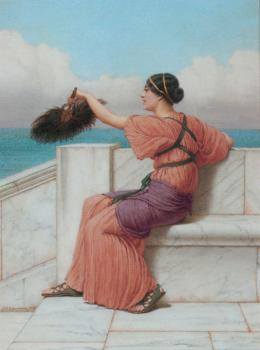 John William Godward : A Fond Farewell