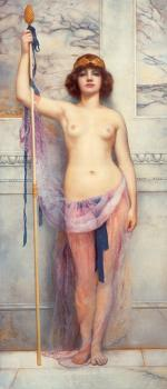 John William Godward : A Priestess