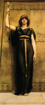John William Godward : A Priestess II