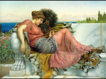 John William Godward : Amaryllis
