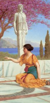 John William Godward : Ancient Pastimes