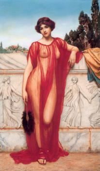 John William Godward : Athenais
