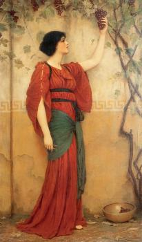 John William Godward : Autumn