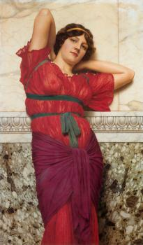 John William Godward : Contemplation