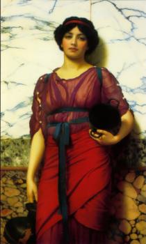 John William Godward : Grecian Idyll