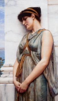 John William Godward : Grecian Reverie