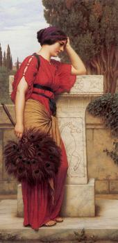 John William Godward : La Pensierosa