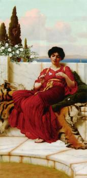 John William Godward : Mischief