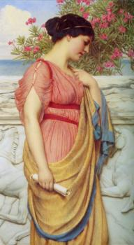 John William Godward : Sappho