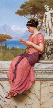 John William Godward : The Love Letter
