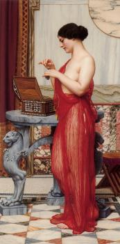 John William Godward : The New Perfume