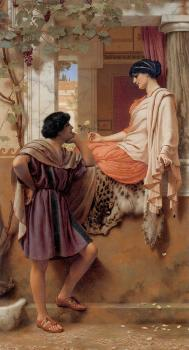 John William Godward : The Old, Old Story