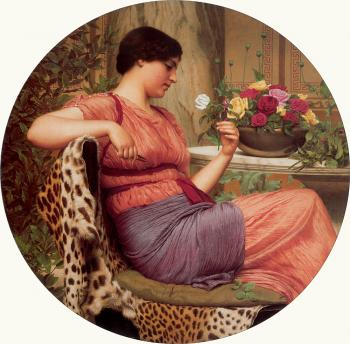 John William Godward : The Time of Roses