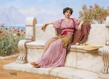 John William Godward : Tranquillity