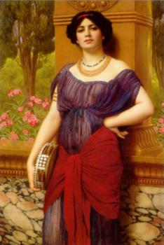 John William Godward : Tympanistria