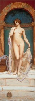 John William Godward : Venus at the Bath