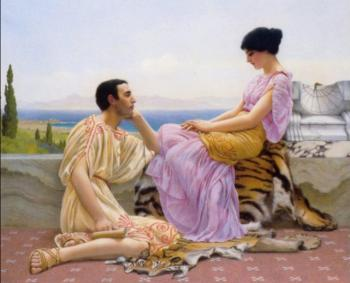 John William Godward : Youth and Time