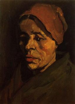 Vincent Van Gogh : Peasant Woman,Head
