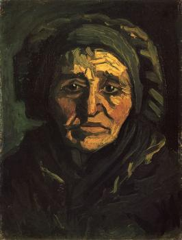 Vincent Van Gogh : Peasant Woman, Head
