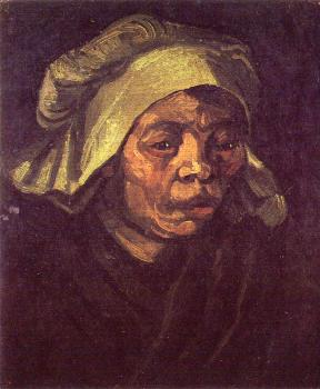 Vincent Van Gogh : Peasant Woman, Head II