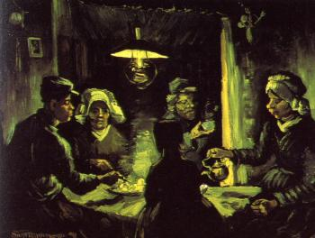 Vincent Van Gogh : The Potato Eaters
