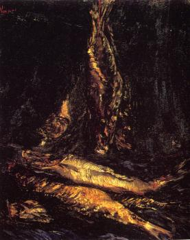 Vincent Van Gogh : Still Life with Red Herrings